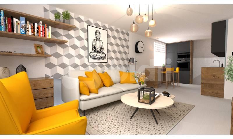 Prodej bytu 3+1, 64m2, Praha 4 - Lhotka