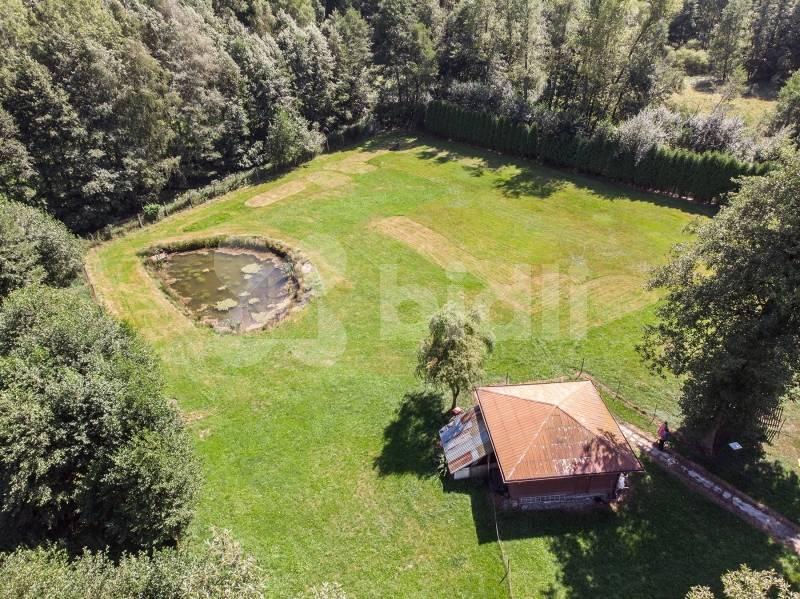 Prodej, chata a pozemek k rekreaci 5000 m2,