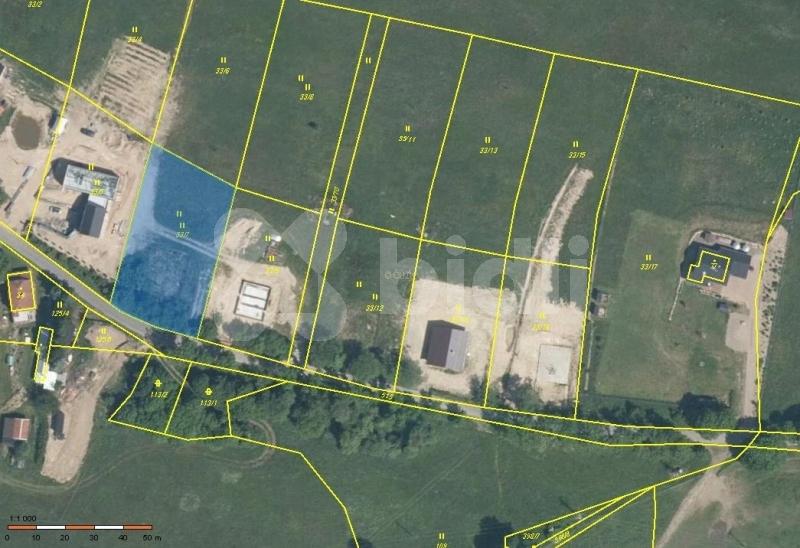 Prodej, pozemek 1818 m2, Bečov u Blatna, okr.
