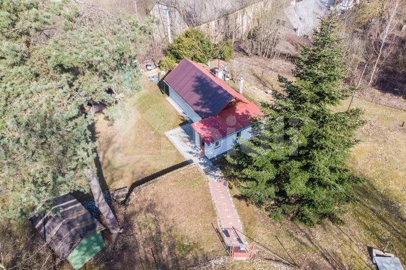 Prodej chaty 55m2, pozemek 2280m2