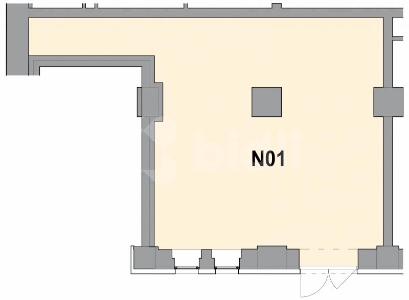 Prodej obchodního prostoru 60,1 m2
