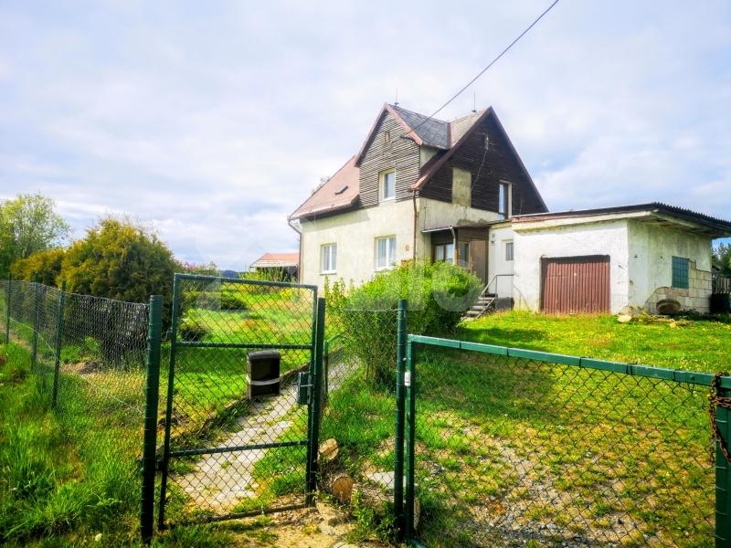Prodej domu 4+1 se zahradou 1607m2 Horní Vojtanov